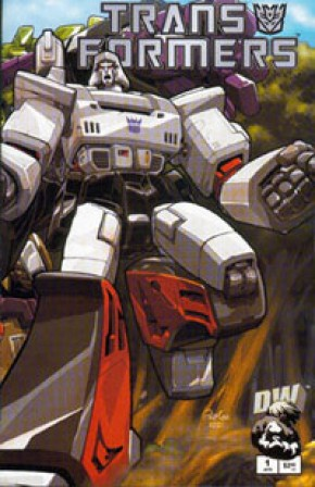 Transformers G1 Volume 1 #1 (Decepticon Cover)