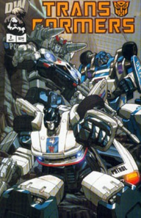 Transformers G1 Volume 1 #2 (Autobot Cover)