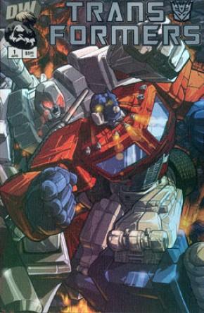 Transformers G1 Volume 1 #1 (Chrome Variant)