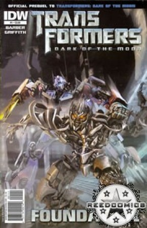 Transformers 3 Movie Prequel Foundation #1