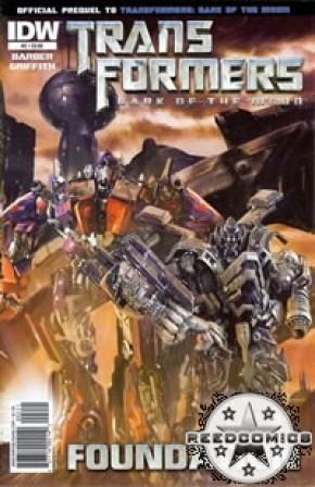 Transformers 3 Movie Prequel Foundation #2