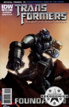 Transformers 3 Movie Prequel Foundation #2 (1:10 Incentive)