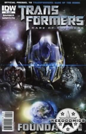 Transformers 3 Movie Prequel Foundation #4