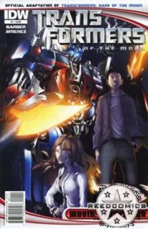 Transformers 3 Dark of the Moon Movie Adaptation #1