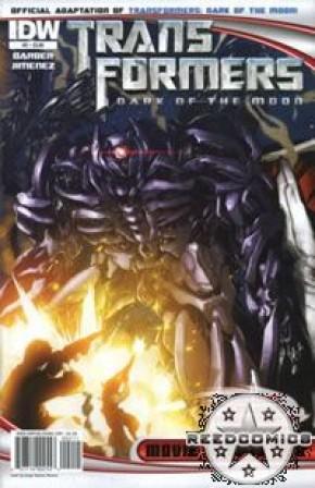 Transformers 3 Dark of the Moon Movie Adaptation #2