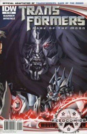Transformers 3 Dark of the Moon Movie Adaptation #4