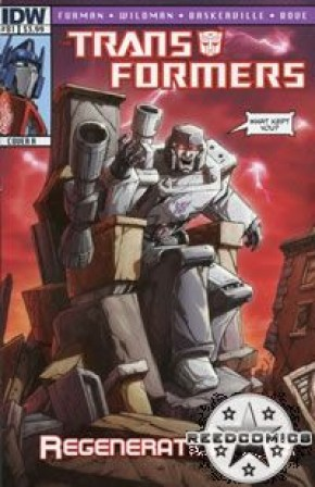 Transformers Regeneration One #81 (Cover A)