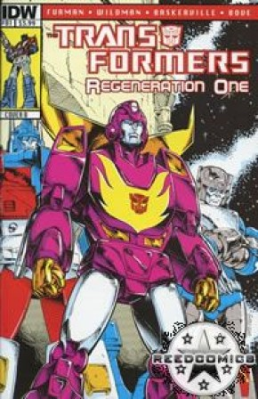 Transformers Regeneration One #81 (Cover B)