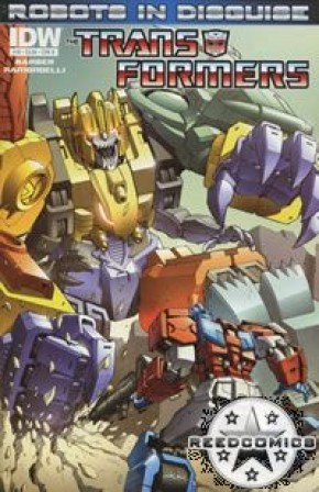 Transformers Robots In Disguise Ongoing #10 (Cover B)