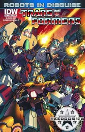 Transformers Robots In Disguise Ongoing #12 (Cover B)
