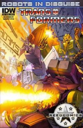Transformers Robots In Disguise Ongoing #13 (Cover B)