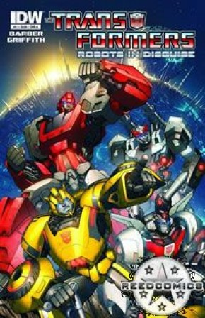 Transformers Robots In Disguise Ongoing #1 (1:10 Incentive)