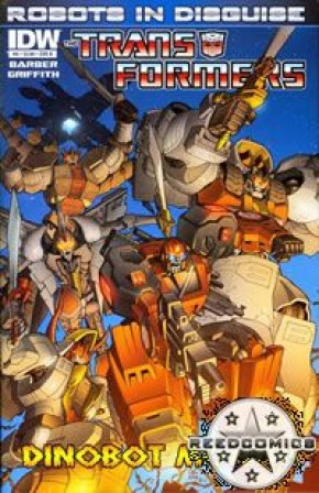 Transformers Robots In Disguise Ongoing #8 (Cover B)