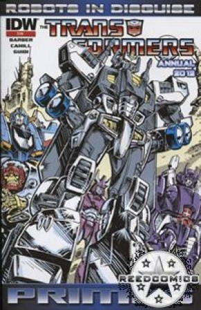 Transformers Robots In Disguise Ongoing Annual 2012 (2nd Printing)