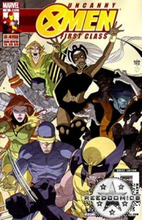 Uncanny X-Men First Class #4