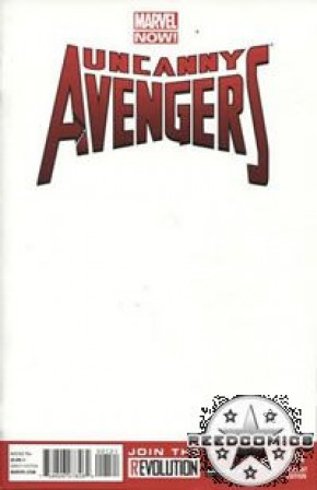 Uncanny Avengers #1 (Blank Cover)