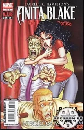 Anita Blake Laughing Corpse Necromancer #2