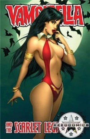 Vampirella and the Scarlet Legion #1 (1:4 Incentive Cover)