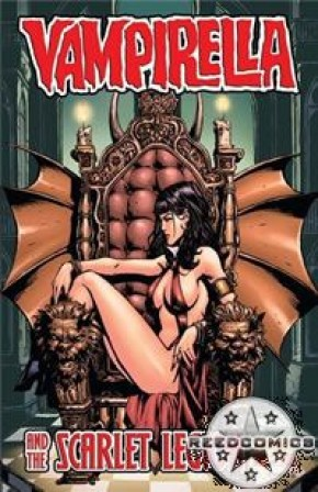 Vampirella and the Scarlet Legion #2 (Cover B)