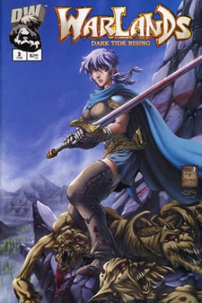 Warlands Volume 3 Dark Tide Rising #3