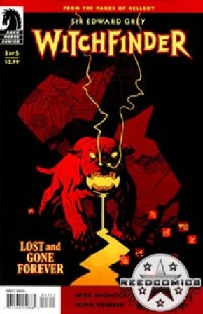 Witchfinder Lost And Gone Forever #3