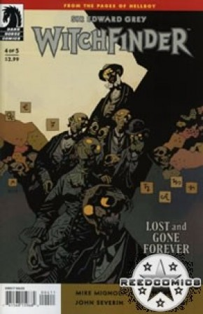 Witchfinder Lost And Gone Forever #4
