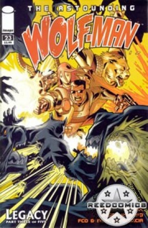 The Astounding Wolfman #23