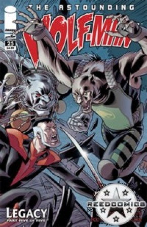 The Astounding Wolfman #25