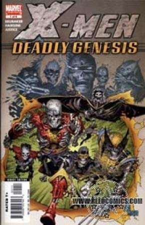 X-Men Deadly Genesis #1