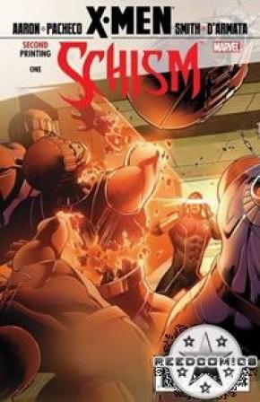 X-Men Schism #1 (2nd Printing Cyclops Variant)