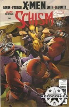 X-Men Schism #1 (2nd Printing Wolverine Variant)