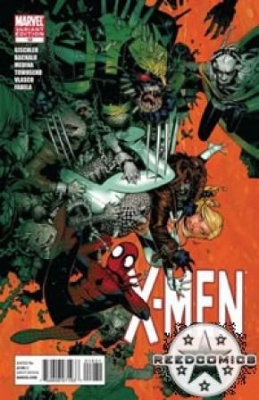 X-Men Comics (New Series) #10 (1:15 Bachalo Incentive)
