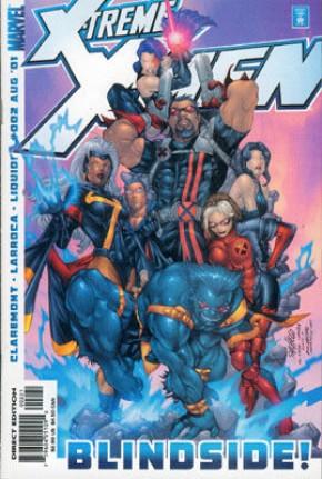 X-treme X-Men Volume 1 #2 (Team Cover)