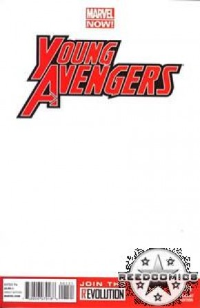 Young Avengers Volume 2 #1 (Blank Cover)