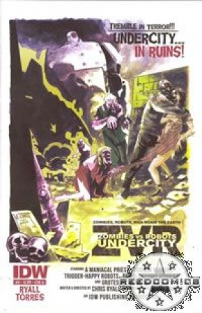 Zombies Vs Robots Undercity #3 (Cover A)