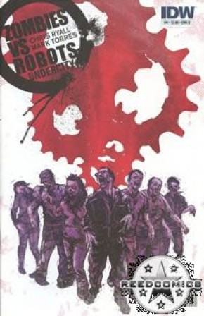 Zombies Vs Robots Undercity #4 (Cover B)