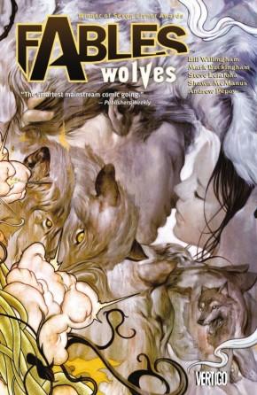 FABLES VOLUME 8 WOLVES GRAPHIC NOVEL