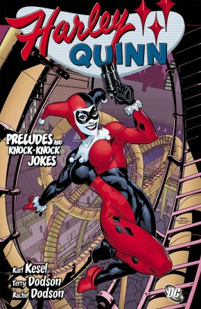 HARLEY QUINN PRELUDES AND KNOCK KNOCK JOKES GRAPHIC NOVEL