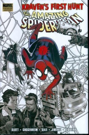 AMAZING SPIDER-MAN KRAVENS FIRST HUNT HARDCOVER