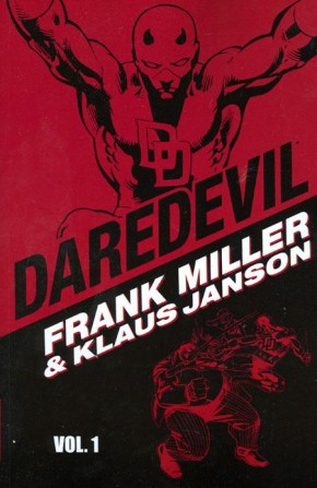 DAREDEVIL BY MILLER AND JANSON VOLUME 1 GRAPHIC NOVEL