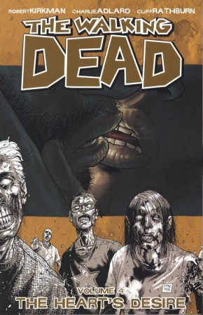 WALKING DEAD VOLUME 4 THE HEARTS DESIRE GRAPHIC NOVEL