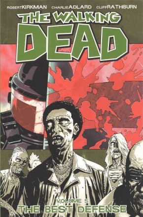 WALKING DEAD VOLUME 5 THE BEST DEFENSE GRAPHIC NOVEL