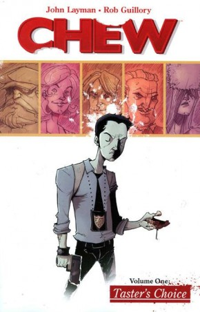 CHEW VOLUME 1 TASTERS CHOICE GRAPHIC NOVEL