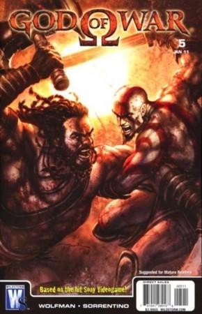 GOD OF WAR #5 (2010 SERIES)