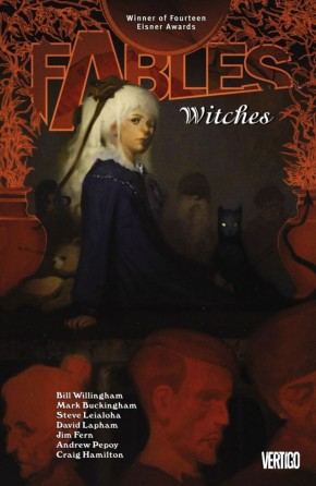 FABLES VOLUME 14 WITCHES GRAPHIC NOVEL