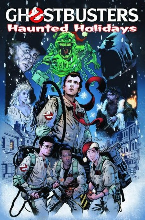 GHOSTBUSTERS HAUNTED HOLIDAYS GRAPHIC NOVEL