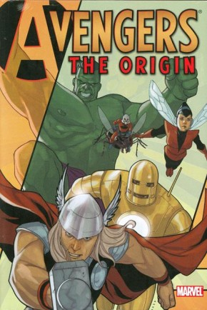 AVENGERS THE ORIGIN HARDCOVER