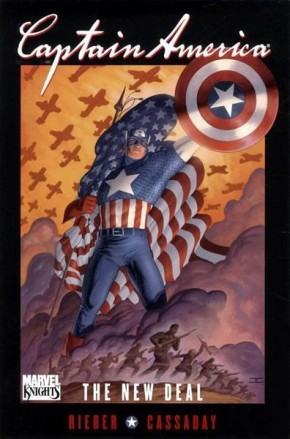 CAPTAIN AMERICA NEW DEAL HARDCOVER