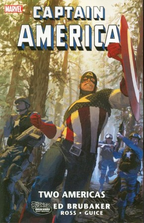 CAPTAIN AMERICA TWO AMERICAS GRAPHIC NOVEL