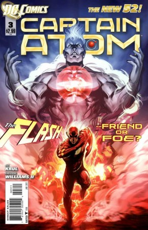 CAPTAIN ATOM #3 (2011 SERIES)